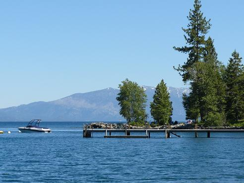 West Shore at  Lake Tahoe, California