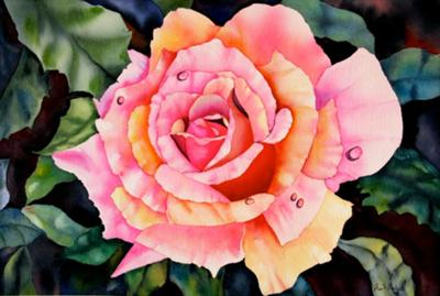 Watercolor by Eva Stramer-Nichols