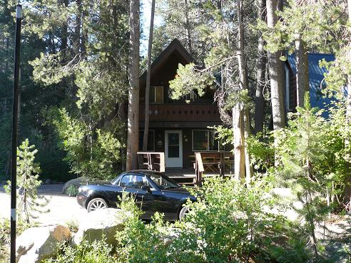 Cabin at Donner Lake in Truckee, California