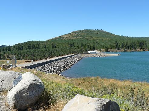 Boca Dam in Truckee, California