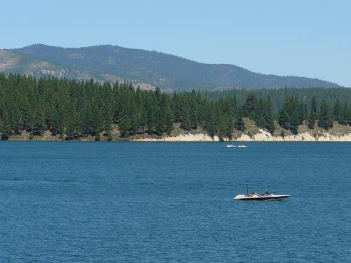 Boca Reservoir in Truckee, California