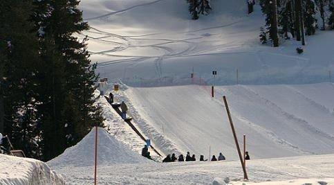 Boreal Snowtubing at Mountain Playground