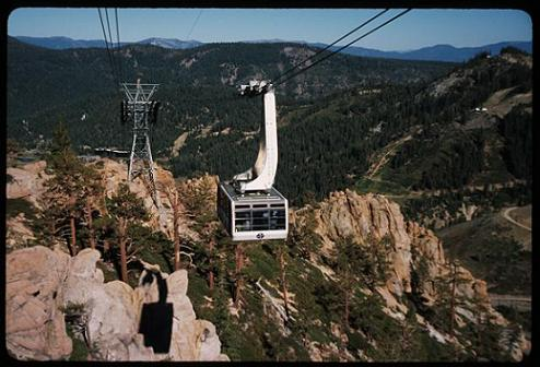 Squaw Valley Cable Car to High Camp