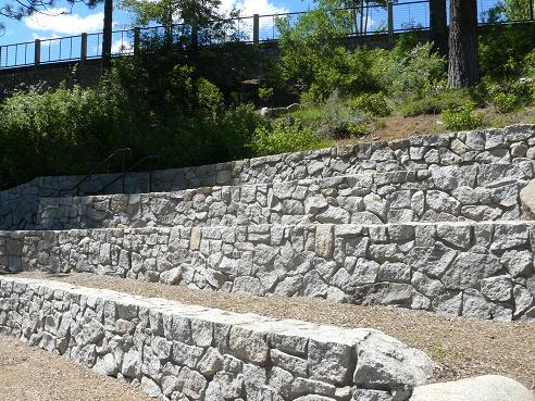 Amphitheater at Commons Beach in Tahoe City at Lake Tahoe