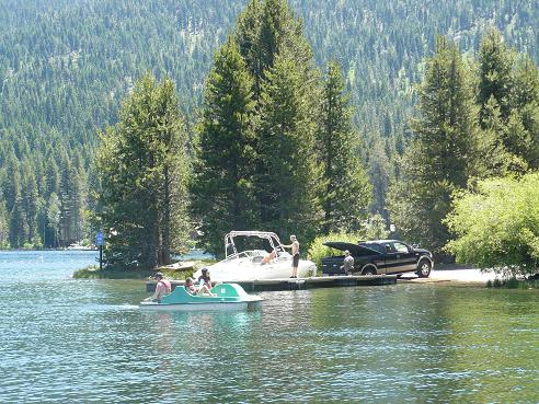 Donner Lake Property Owners Beach Boat Ramp in Truckee, CA