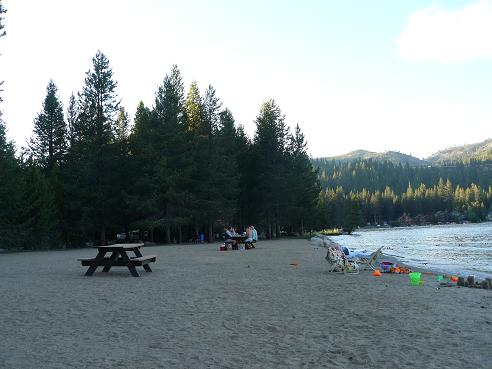 Donner Lake Property Owners Beach
