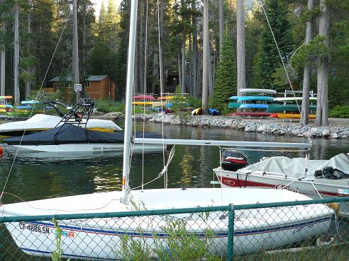Donner Lake Property Owners Beach - Boat Storage