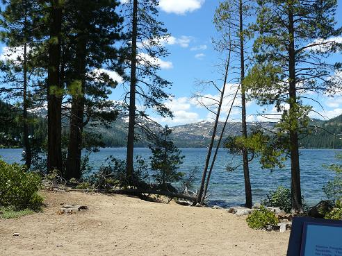 Donner Memorial State Park at Donner Lake in Truckee, California