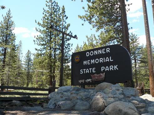 The Entrance to the Donner Memorial State Park in Truckee, California