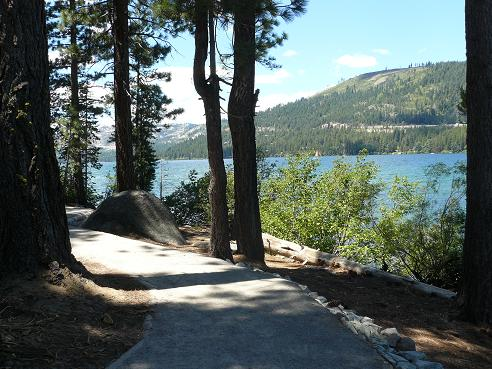 Donner Memorial State Park - Lakeside Interpretive Trail in Truckee, California