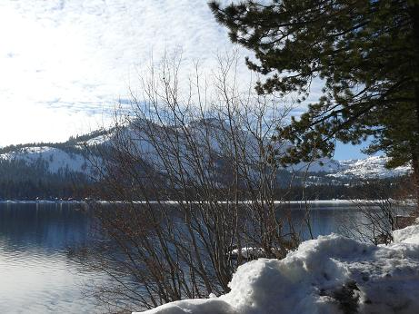 Donner Lake in Truckee, California