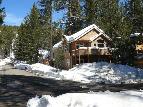 House at Donner Lake in Truckee California