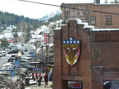 Downtown Truckee Commercial Row in Truckee, California