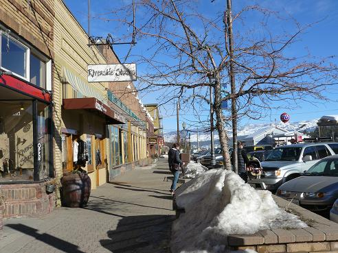 Downtown Truckee where you can find lots of great shops and restaurants!