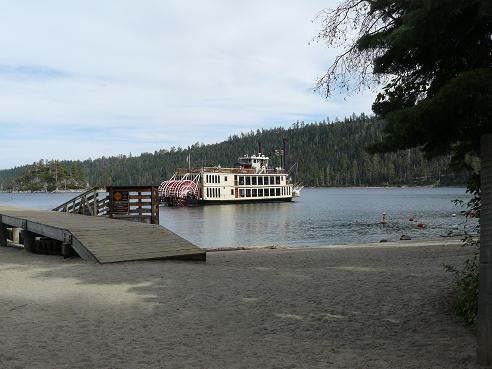Emerald Bay Beach at Emerald Bay, Lake Tahoe