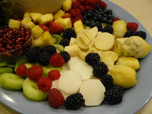 Fruit Tray by Leigh Storz