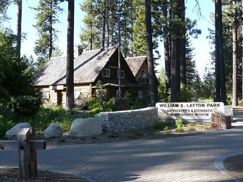 William B. Layton Park and Gatekeepers Museum & Steinbach Indian Basket Museum in Tahoe City, CA at Lake Tahoe