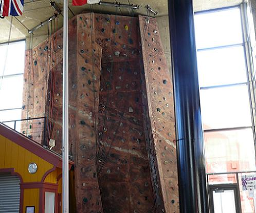 Headwall Climbing Wall at Squaw Valley