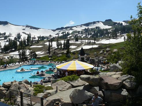 High Camp Pool at Squaw Valley