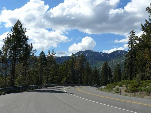 Mt. Rose Highway above Incline Village, Nevada