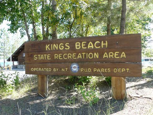 Kings Beach State Recreation Area in Kings Beach at Lake Tahoe