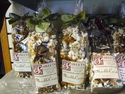 Sweets Handmade Candies Marble Corn in Truckee California