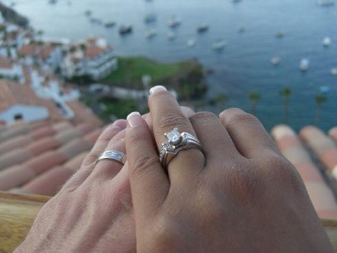 Ryan and Marlene Storz Wedding Rings