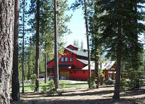 Martis Camp Family Barn in the Martis Camp Community in Truckee, California