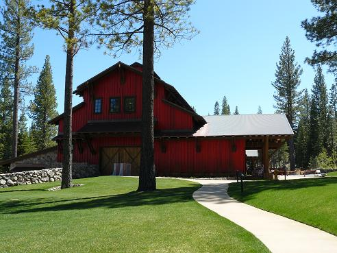 Family Barn at Martis Camp in Truckee, California