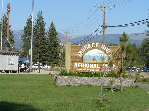 Truckee River Regional Park in Truckee California
