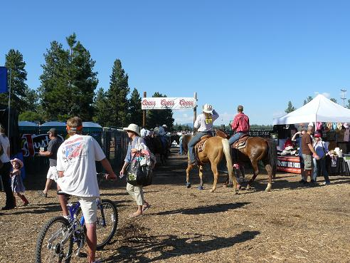 Truckee River Regional Park Rodeo Grounds in Truckee, CA