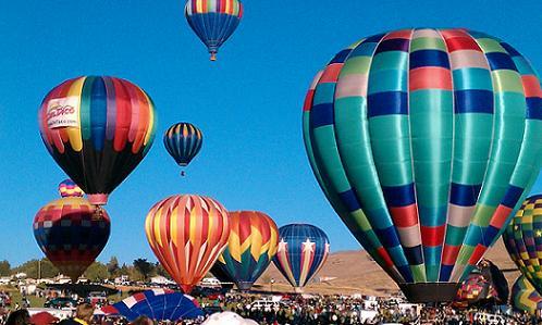 Great Reno Balloon Race - 2011