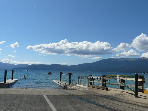 Sand Harbor State Park Boat Launch at Lake Tahoe, Nevada