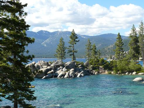 Sand Harbor Divers Cove at Lake Tahoe, Nevada