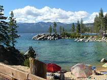 Sand Harbor State Park at Lake Tahoe