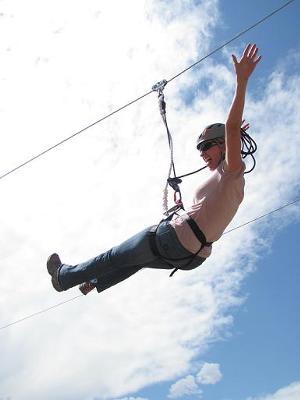 Ziplining - Photo Credit: Nathan Kendall