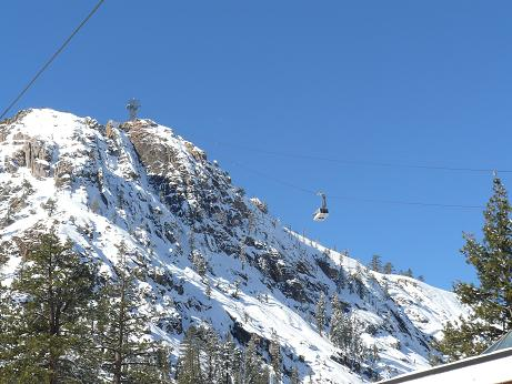 Squaw Valley's High Camp Cable Car - Olympic Village, California