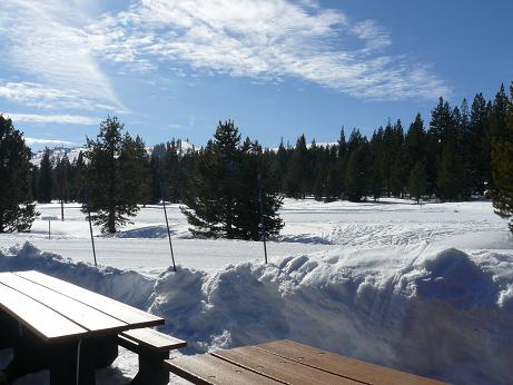 Truckee Winter Activities - Pictured is Tahoe Donner Cross Country Center