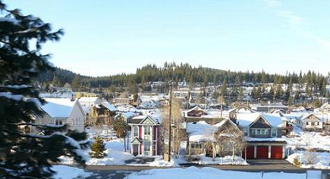 Truckee Town View