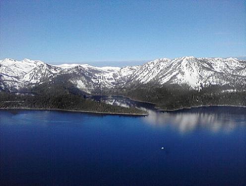 Hot Air Ballooning over Lake Tahoe