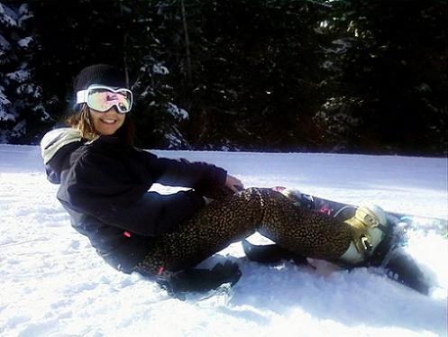 Snowboarding at Lake Tahoe!