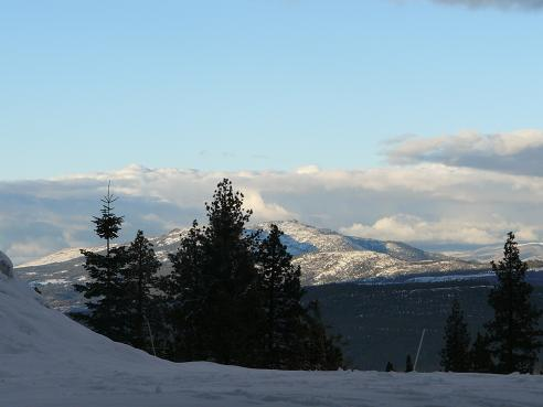 View from the Ritz Carlton, Highland Lake Tahoe