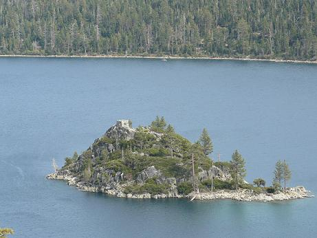 Fannette Island at Emerald Bay, Lake Tahoe