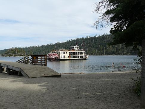 M.S. Dixie Cruising around Fannette Island at Emerald Bay, Lake Tahoe